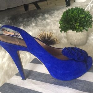 ✨ STUNNING Electric Blue Vince Camuto Pumps 7.5